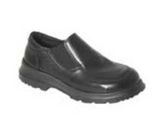 Sacha Ladies Slip On Safety Shoe