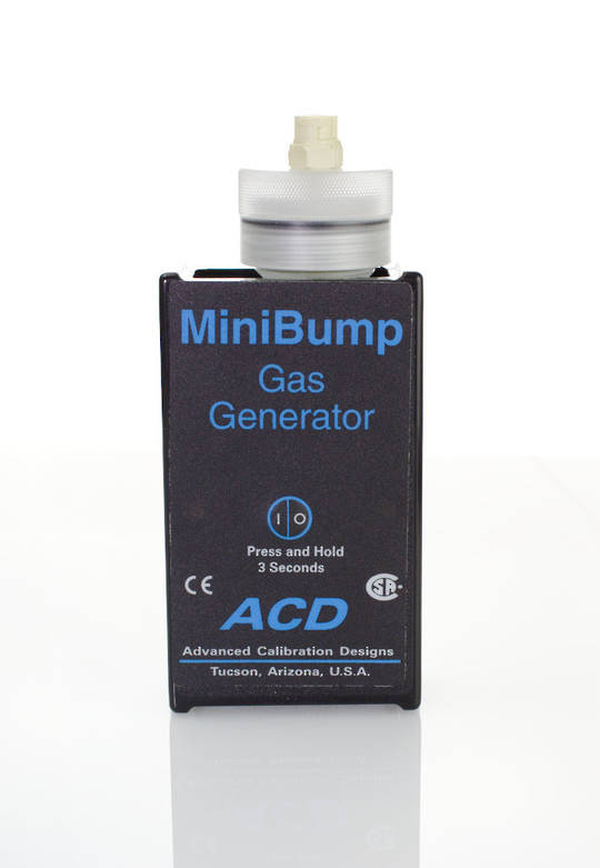 ACD MiniBump Calibration Gas Bump Tester (CL2, H2, HCN, H2S)