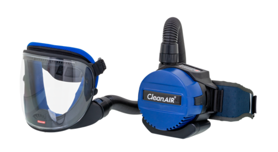 CleanAir Basic/UniMask Grinding Powered Respirator Kit