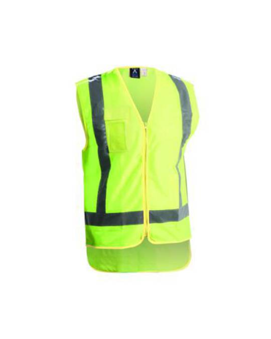 Hi Viz Vest Day Night Yellow
