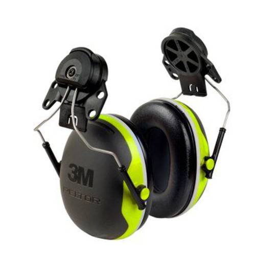 3M PELTOR X Series X4P3E Premium Cap Attached Earmuff - Class 4