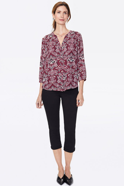 ORCHID PINTUCK TOP