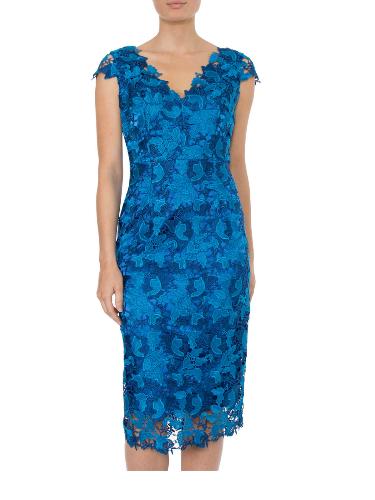 Anthea Crawford  Mother of the bride or groom, wedding guest, Elegant day wear. Aquamarine