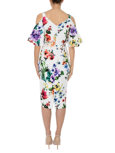 Anthea Crawford  Mother of the bride or groom, wedding guest, Elegant day wear. Botanica Back