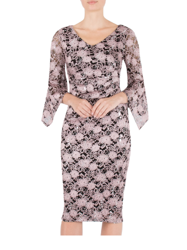 ANTHEA CRAWFORD MOTHER OF THE BRIDE OR GROOM ROSE  DRESS