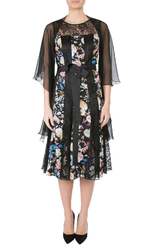 Anthea Crawford Black Silk Shrug, mother of the bride, groom elegant day wear evening wear