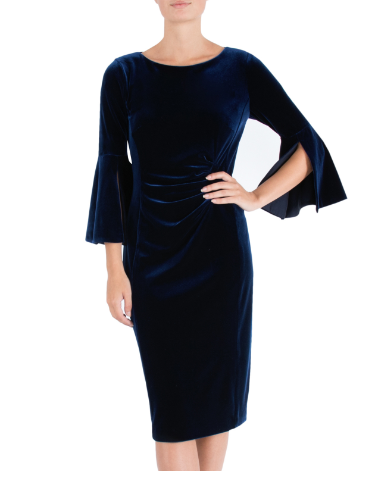 ANTHEA CRAWFORD MOTHER OF THE BRIDE OR GROOM SAPPHIRE  DRESS