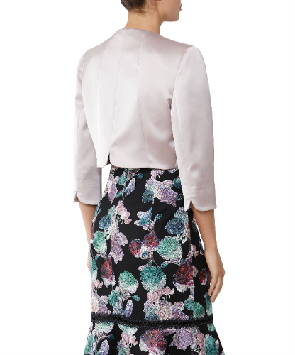 mother of the bride blush jacket 1