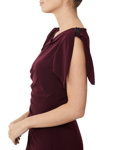 MOTHER OF THE BRIDE PLUM DRESS 1