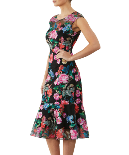 mother of the bride or groom garland dress 1