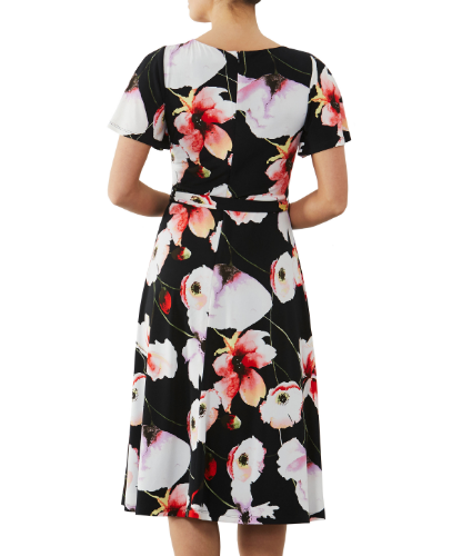 mother of the bride or groom flora printed jersey  dress 2