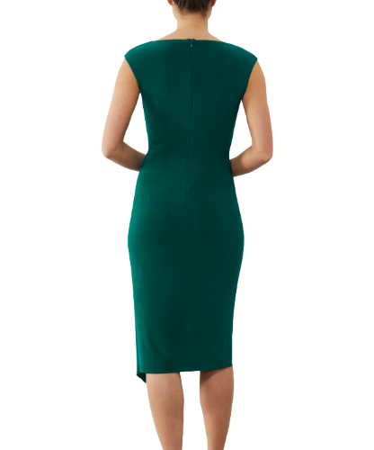 mother of the bride or groom emerald dress  2