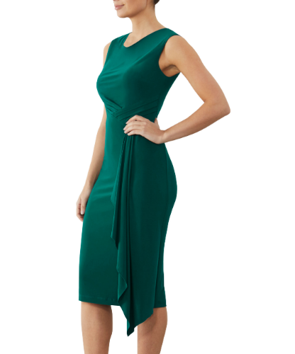 mother of the bride or groom emerald dress 1
