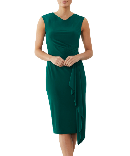 mother of the bride or groom emerald dress