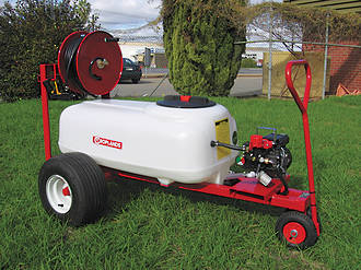 Croplands Nursery sprayer