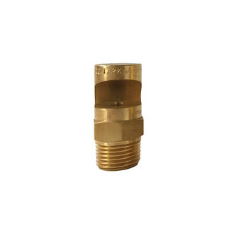 Floodjet Brass Spray Nozzle - B1/2K-60