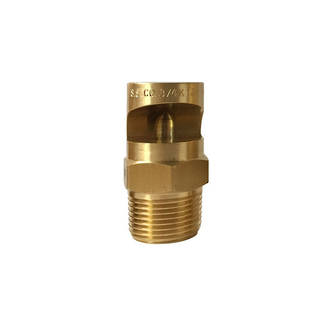 Floodjet Brass Spray Nozzle - B3/4K-90