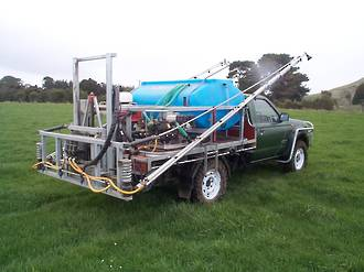 Bertolini 1150 litre 12m deckmount sprayer