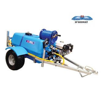 Bertolini 200L EZI-BoomJet Petrol Powered Trailed Sprayer