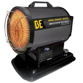BE Silent Drive Radiant Diesel Heater - 70000 BTU