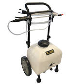 Master Gardener Rechargeable Cart Sprayer