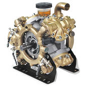 Comet IDS2001 Brass High Pressure Diaphragm Pump