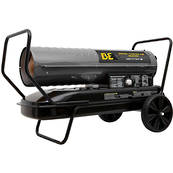 BE Forced Air Diesel Heater - 175000 BTU 52kW