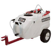 NorthStar 117L Tow-Behind Sprayer with Boom