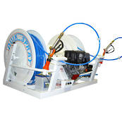 Quik Spray Twin Reel with 200M Hose