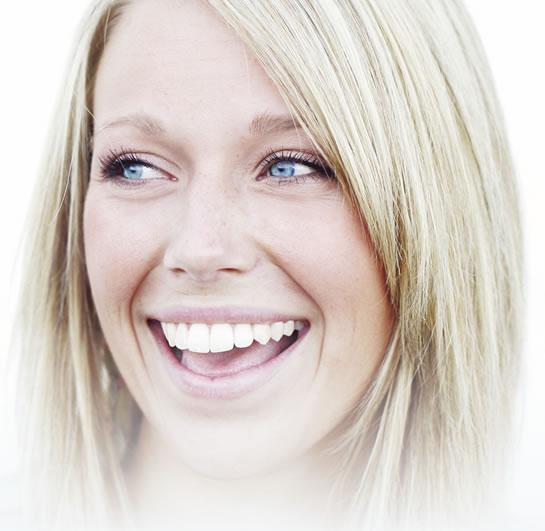 smile lady