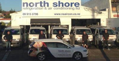 North Shore Refrigeration Service Team