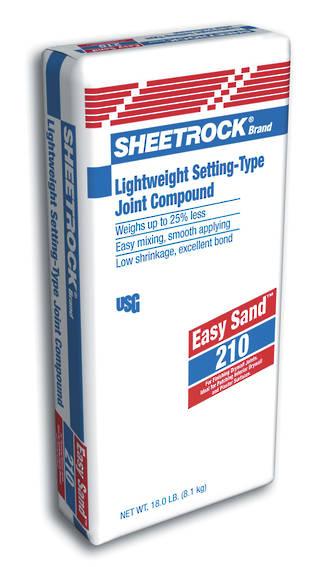 USG Sheetrock EasySand 210 16kg