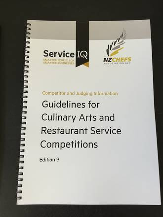 Guidelines for Culinary Arts & Restaurant Service Competitions - Competitor and Judging Information