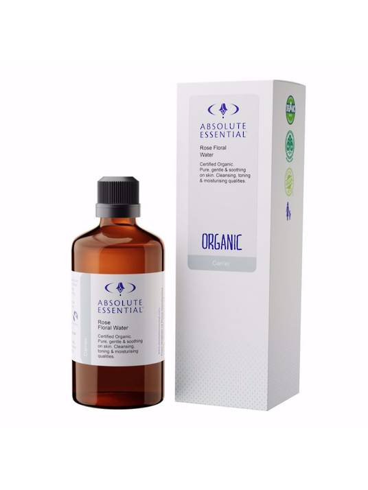 Absolute Essential Rose Floral Water Organic, 100ml