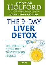 The Holford 9-Day Liver Detox by Patrick Holford and Fiona McDonald Joyce