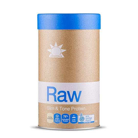 Amazonia Raw Slim & Tone Protein, 1kg (Vanilla + Cinnamon)
