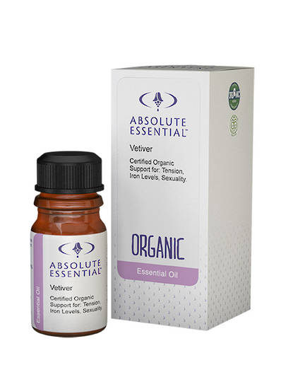 Absolute Essential Vetiver (Organic), 5ml