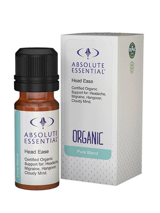 Absolute Essential Head Ease Organic, 10ml