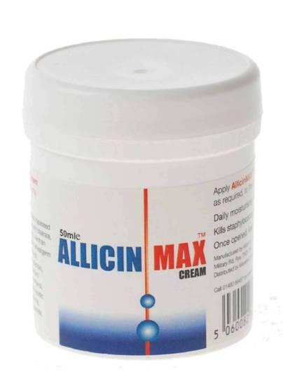 Allicin Intl, AllicinMax Cream - Antiseptic/Antifungal Cream, 50ml