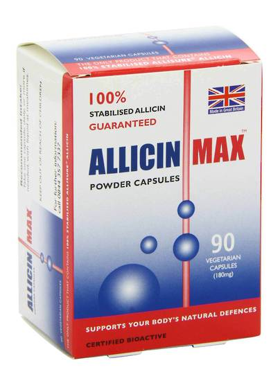 Allicin Intl, AllicinMax, 90 Capsules In Stock NOW
