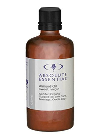 Absolute Essential Sweet Almond Oil (Organic), 100ml, 200ml