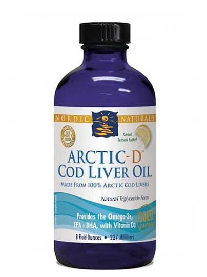 Nordic Naturals Arctic-D Cod Liver Oil (237ml)