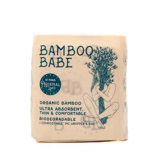 Bamboo Babe Organic Bamboo Pads - Normal
