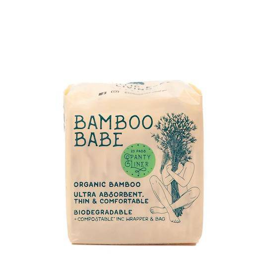 Bamboo Babe Organic Bamboo Pads - Panty Liners