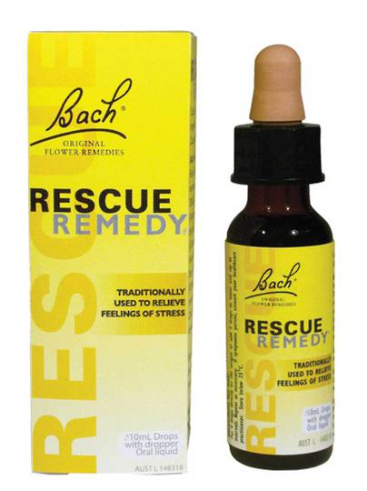Bach Flowers Rescue Remedy Drops, 10ml or 20ml