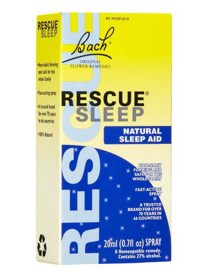 Bach Flowers Rescue Remedy Sleep, Drops or Spray