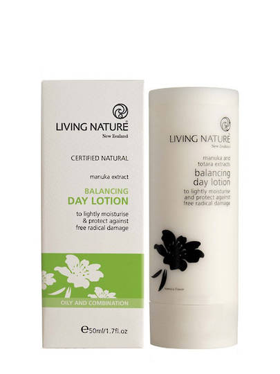 Living Nature Balancing Day Lotion (oily/anti acne), 50ml