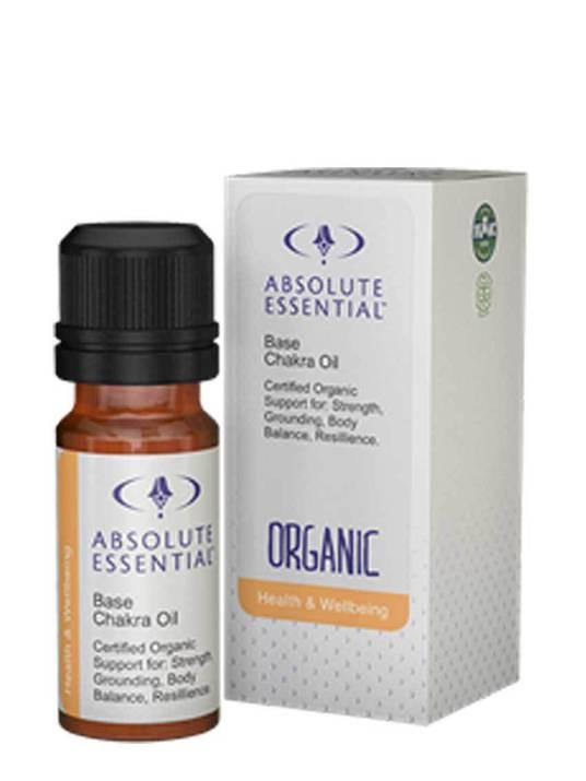 Absolute Essential Base Chakra Oil (Organic), 10ml