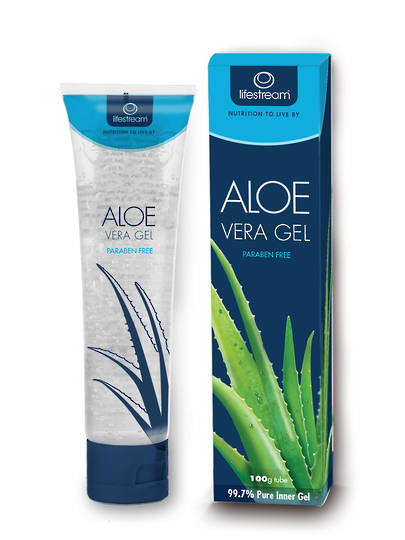 Lifestream Biogenic Aloe Vera Gel Tube, 100g