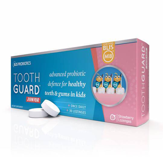 ToothGuard Junior with BLIS M18, 30 lozenges